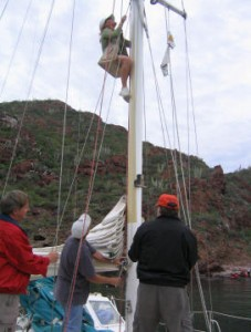 Students learn to go aloft